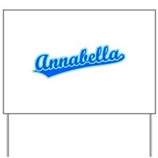 Retro Annabella (Blue) Yard Sign