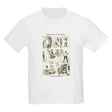 Beadmaking in the 1800's Kids T-Shirt