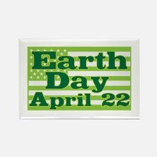 Earth Day April 22 Rectangle Magnet