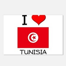 I Love Tunisia Postcards (Package of 8)