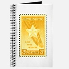 Gold Star Mothers Military Stamp Journal