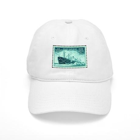 Merchant Marine Military Stamp Cap