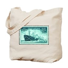 Merchant Marine Military Stamp Tote Bag