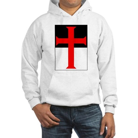 Red Cross on Beausant Hooded Sweatshirt