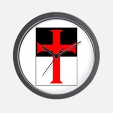 Red Cross on Beausant Wall Clock