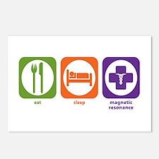 Eat Sleep Magnetic Resonance Postcards (Package of