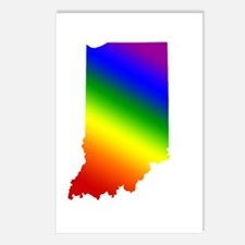 Indiana Gay Pride Postcards (Package of 8)