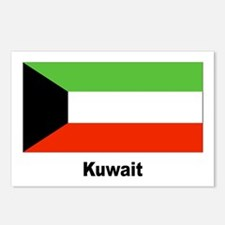 Kuwait Kuwaiti Flag Postcards (Package of 8)