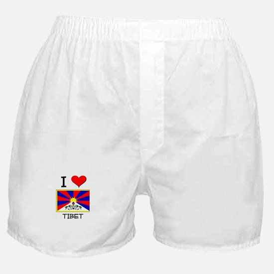 I Love Tibet Boxer Shorts
