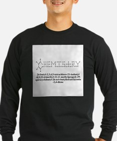 CHEMISTRY MOLECULE Long Sleeve T-Shirt