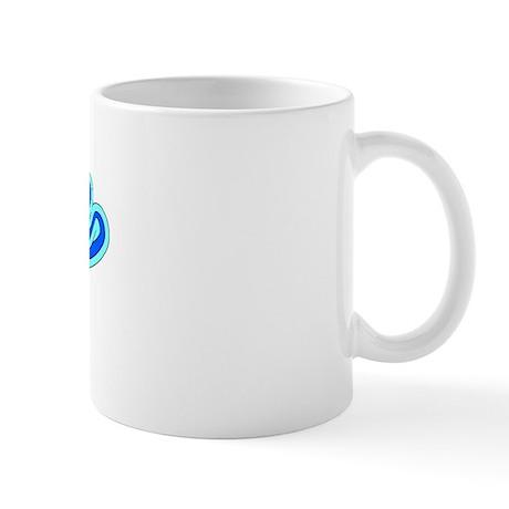 Retro Annie (Blue) Mug