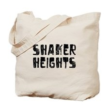 Shaker Heights Faded (Black) Tote Bag