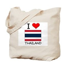 I Love Thailand Tote Bag
