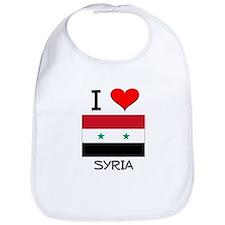 I Love Syria Bib