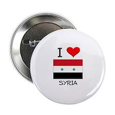 """I Love Syria 2.25"""" Button"""