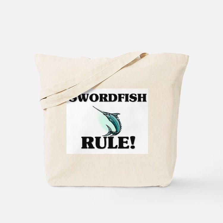Swordfish Rule! Tote Bag