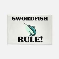 Swordfish Rule! Rectangle Magnet