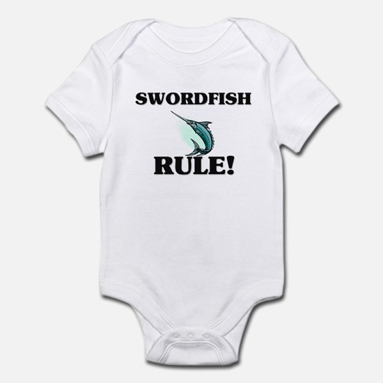 Swordfish Rule! Infant Bodysuit