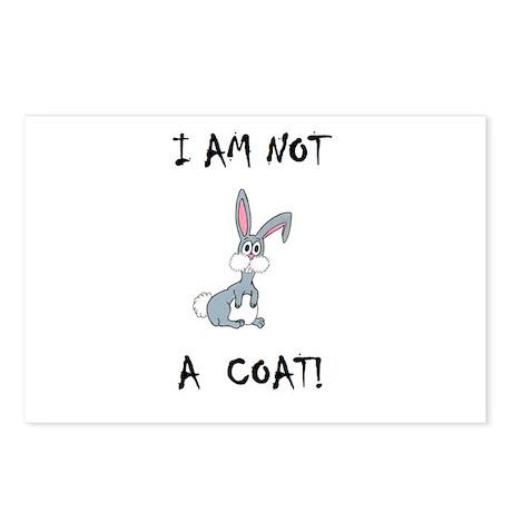 I am not a COAT! (PETA) Postcards (Package of 8)