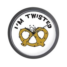 I'm Twisted Wall Clock