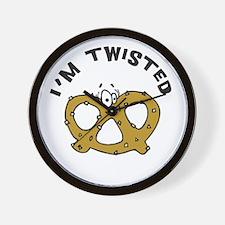 I'm Twisted Wall Clock