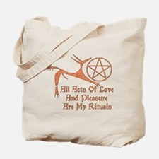Acts Of Love And Pleasure Tote Bag