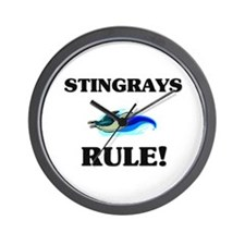 Stingrays Rule! Wall Clock