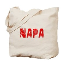 Napa Faded (Red) Tote Bag
