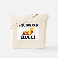 Squirrels Rule! Tote Bag