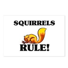 Squirrels Rule! Postcards (Package of 8)