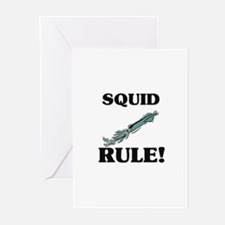 Squid Rule! Greeting Cards (Pk of 10)