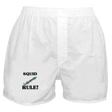 Squid Rule! Boxer Shorts
