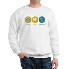 Peace Love Hydrology Sweatshirt