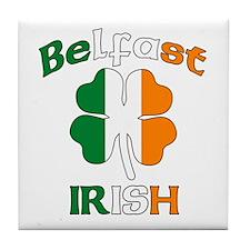 Belfast Irish Tile Coaster