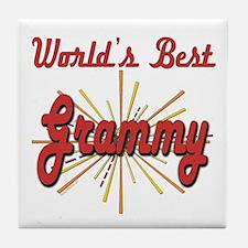 Starburst Grammy Tile Coaster