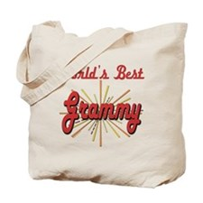 Starburst Grammy Tote Bag