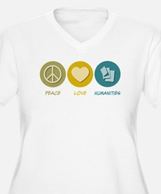 Peace Love Humanities T-Shirt