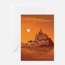 Masonic Bereavement Greeting Card