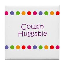 Cousin Huggable Tile Coaster