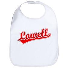 Retro Lowell (Red) Bib