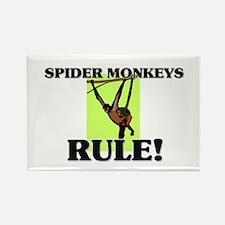 Spider Monkeys Rule! Rectangle Magnet