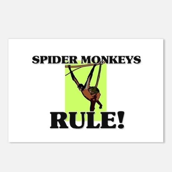Spider Monkeys Rule! Postcards (Package of 8)