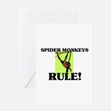 Spider Monkeys Rule! Greeting Cards (Pk of 10)