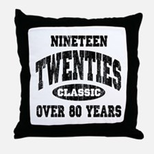 1920's Classic Throw Pillow