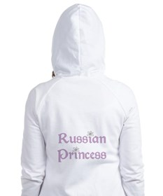 Russian Princess Fitted Hoodie