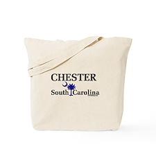 Chester South Carolina Tote Bag