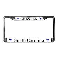 Chester South Carolina License Plate Frame