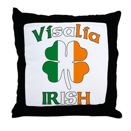 Visalia Irish Throw Pillow