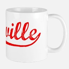 Vintage Vacaville (Red) Mug