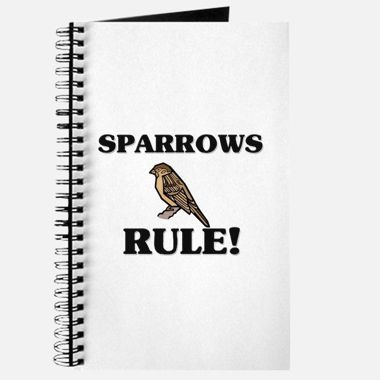 Sparrows Rule! Journal